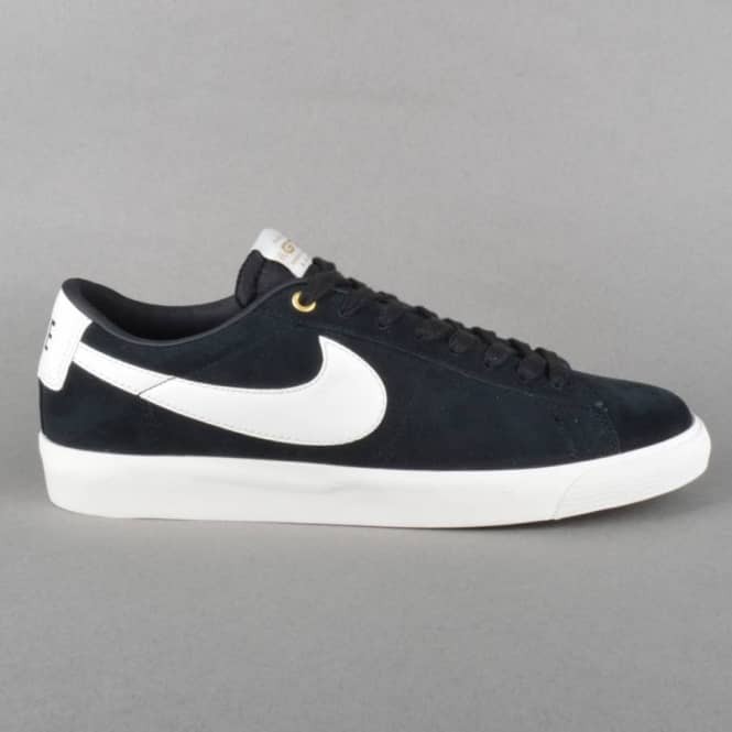 77b5af4097ce7 Nike SB Blazer Low GT QS Skate Shoes - Black Sail - Mens Skate Shoes ...