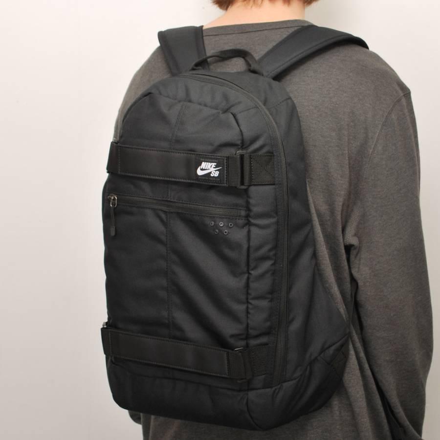 nike sb nike sb embarca medium backpack black nike sb. Black Bedroom Furniture Sets. Home Design Ideas