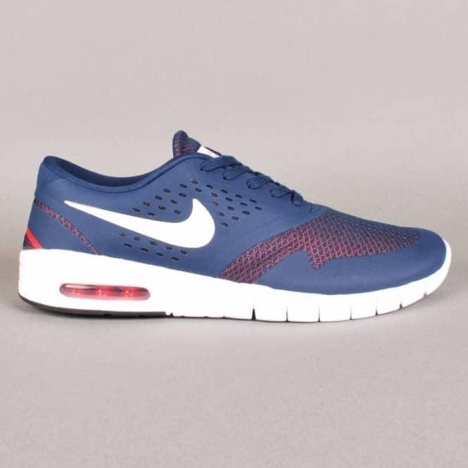 5ec0fd3f9700 Nike SB Eric Koston 2 Max Skate Shoes - Midnight Navy White-Light Crimson