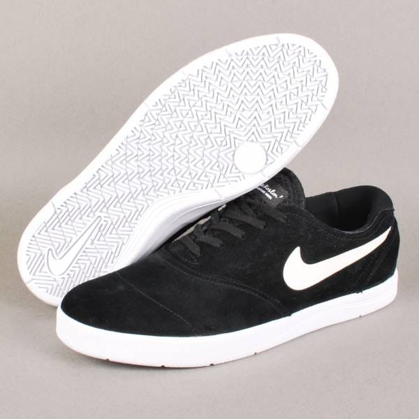 nike sb nike sb eric koston 2 skate shoes black white