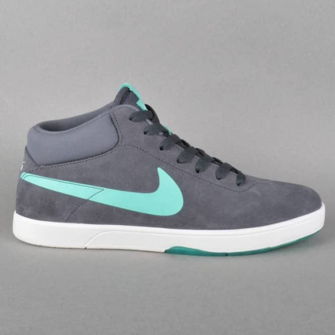 a7326b33a0d2 Nike SB Eric Koston Mid Skate Shoes - Anthracite   Crystal Mint ...
