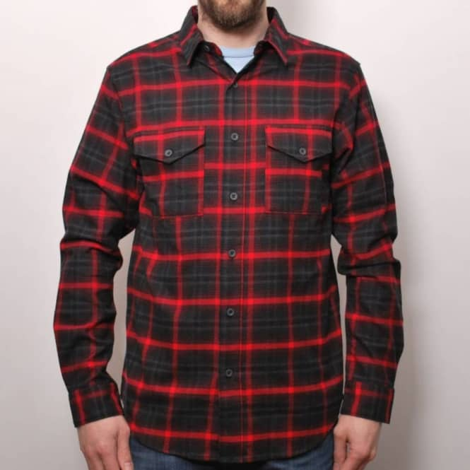 100% quality online shop better Nike SB Nike SB Fieldsman Flannel Shirt Black/Red