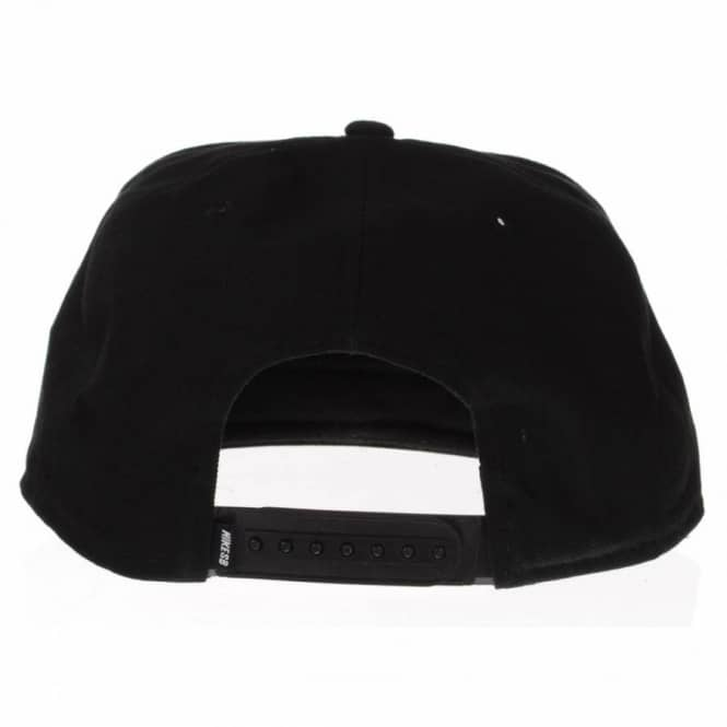 0212204ea Icon Snapback Cap Black/Black