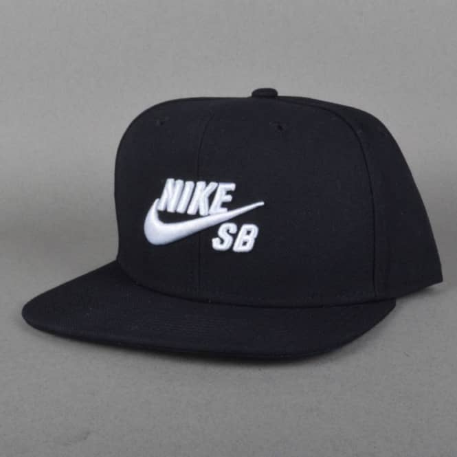 Nike SB Icon Snapback Cap - Black - SKATE CLOTHING from Native Skate ... 83fa77f5be8