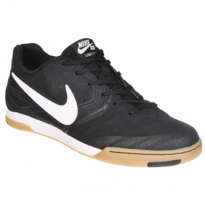 Nike SB Lunar Gato Skate shoes - Black/White-Gum Light Brown
