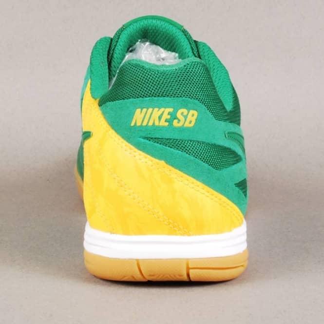 ... Nike SB Lunar Gato WC Quikstrike Skate Shoes - Pine GreenPine  Green-Varsity