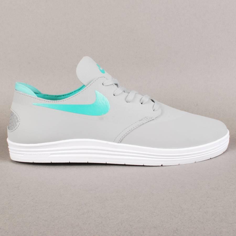 Nike Sb Lunar Oneshot Base Grey Crystal Mint Shoes