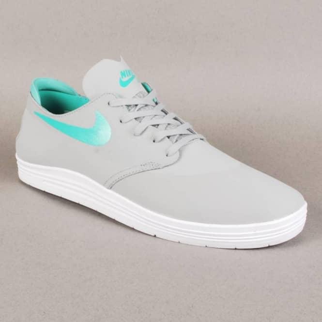 new style 295ff 5a4db nike sb lunar oneshot base grey crystal mint shoe
