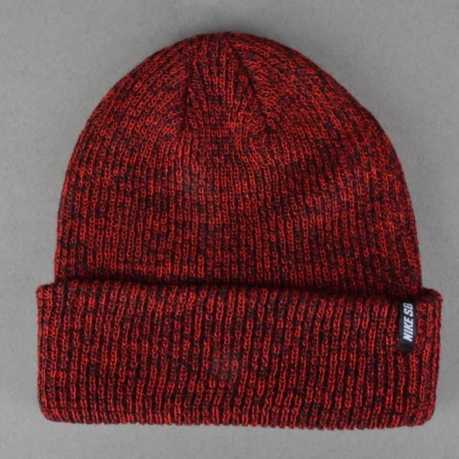 new style 0e649 d8632 ... new zealand nike sb marled fold up beanie red marl afd2d 44cdf