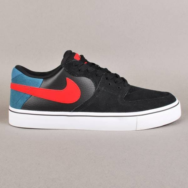 Nike SB Paul Rodriguez 7 VR Skate Shoes - Black/Lt Crimson ...