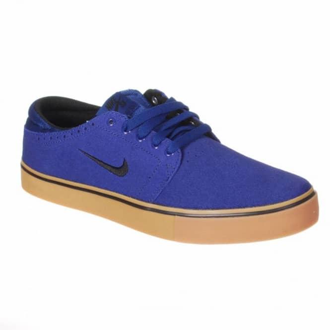buy popular 1a223 c0d50 Nike SB Team Edition Skate Shoes - Deep Royal Blue Black-Gum Mid Brown
