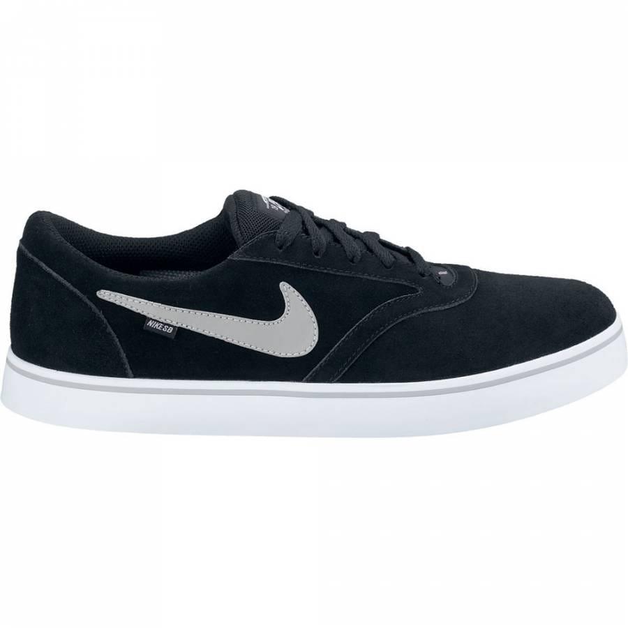 nike sb nike sb vulc rod black medium grey skate shoes