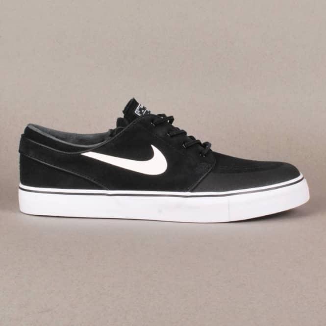 brand new ab739 40156 Nike Zoom Stefan Janoski PR SE Skate Shoes - Black White-New Slate