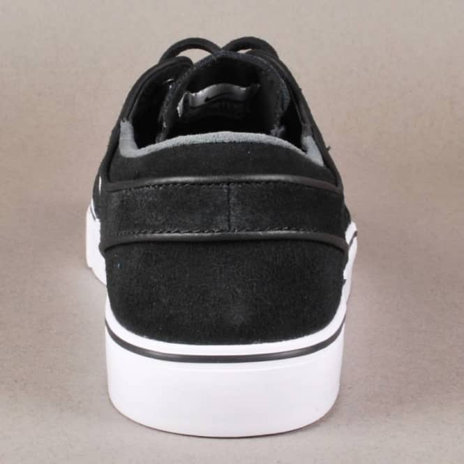 brand new 59579 309d6 Nike Zoom Stefan Janoski PR SE Skate Shoes - Black White-New Slate