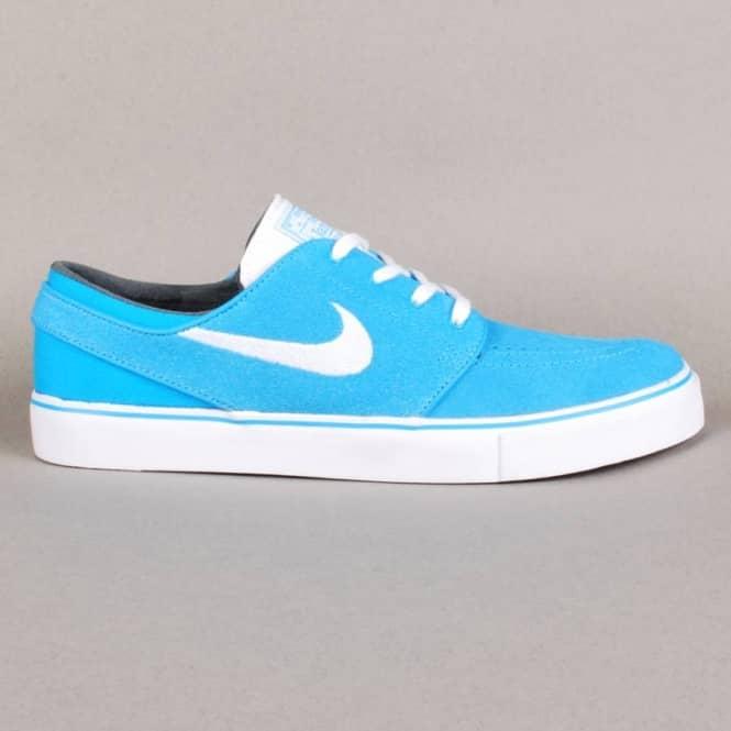 Nike SB Nike Zoom Stefan Janoski Skate Shoes - Vivid Blue White ... 4e4444f7e
