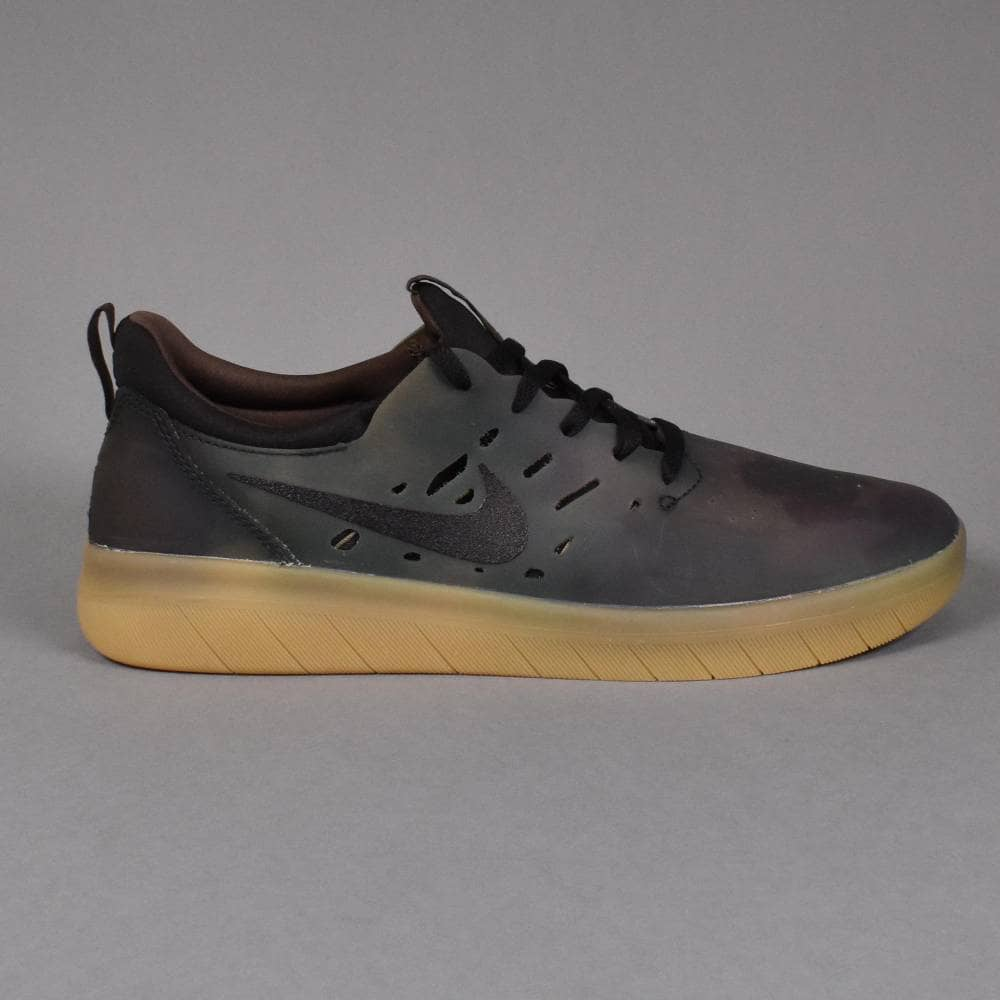 Nike SB Nyjah Free PRM Skate Shoes Multi ColourBlack