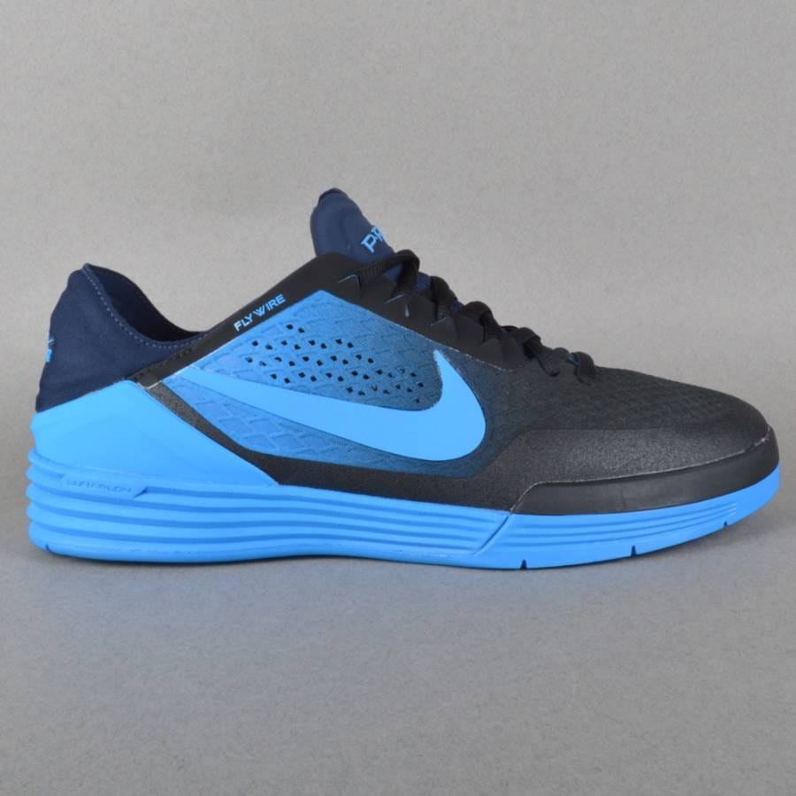 nike sb paul rodriguez 8 skate shoes black photo blue. Black Bedroom Furniture Sets. Home Design Ideas