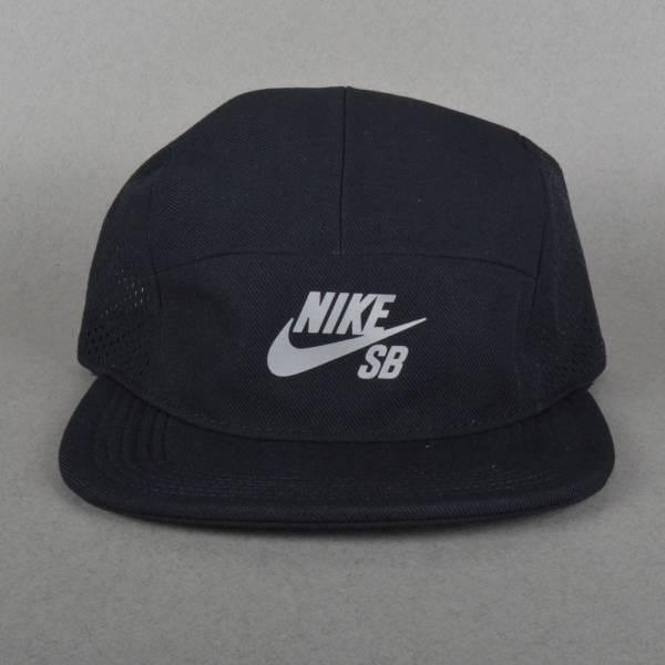 2c5ea518a84f2 Nike SB Performance Dri-Fit 5 Panel Cap - Black Black Black - SKATE ...