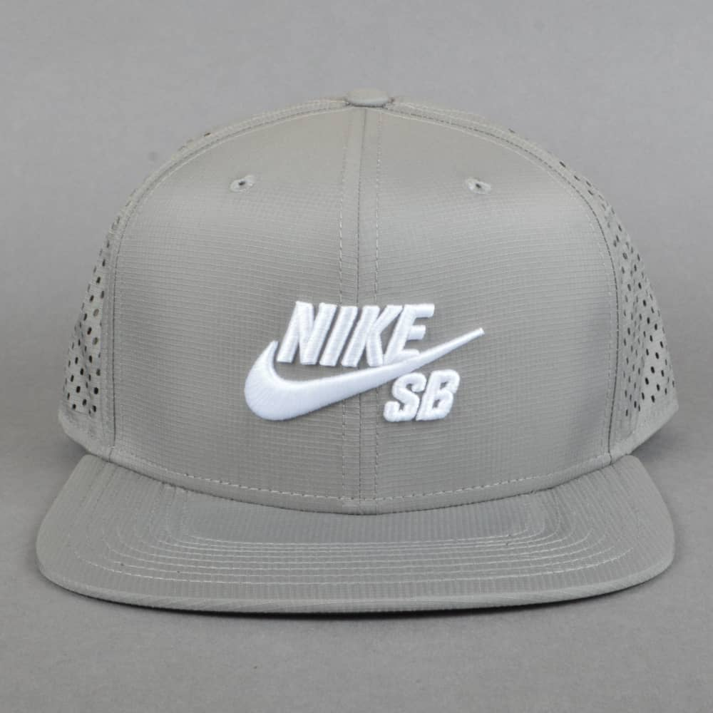 Nike SB Performance Dri-Fit Snapback Cap - Dust Dust Black White ... 939c671426a