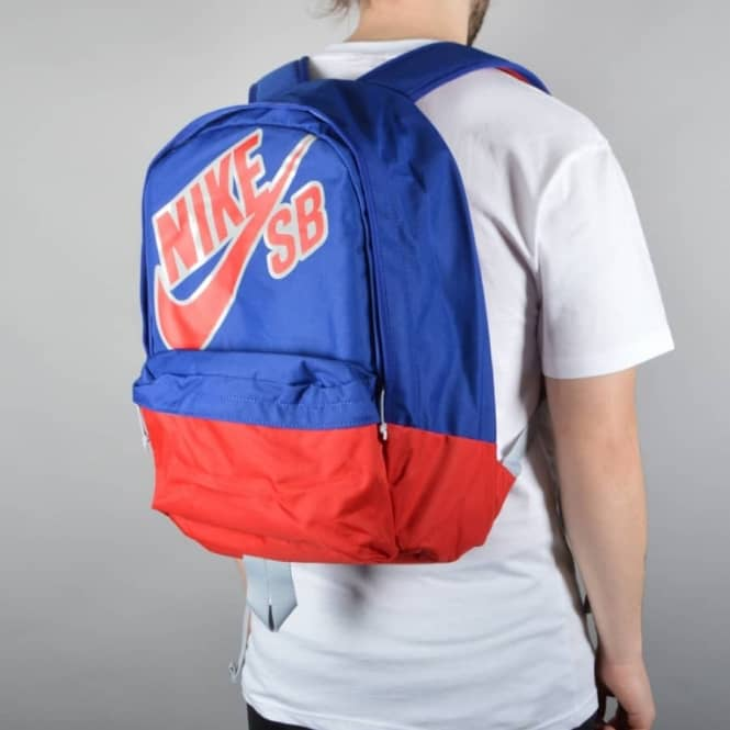 Nike SB Piedmont Backpack - Deep Royal Blue/Gym Red/Wolf Grey