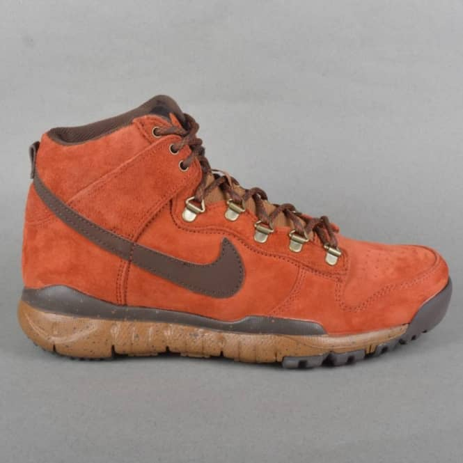 Poler Outdoor Stuff Dunk High OMS - Rugged Orange/Baroque Brown/Ale Brown