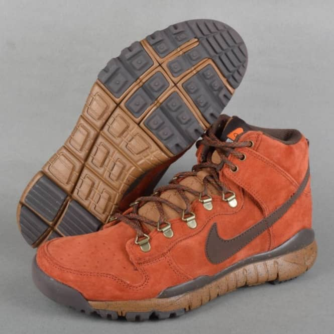 outlet store 05465 745ae Nike SB Poler Outdoor Stuff Dunk High OMS - Rugged Orange/Baroque Brown/Ale  Brown