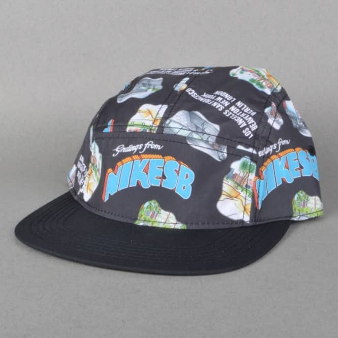 44f33c3df2d5 ... get printed perforated 5 panel cap black 5ca71 faf3d discount nike nike  sb performance ...
