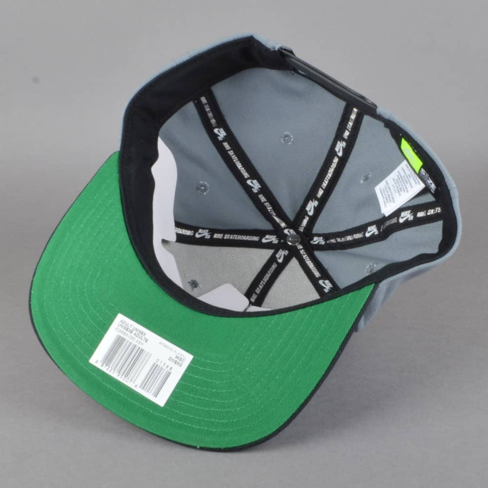 24871faff Pro Snapback Cap - Cool Grey/Black/Pine Green/Barely Green