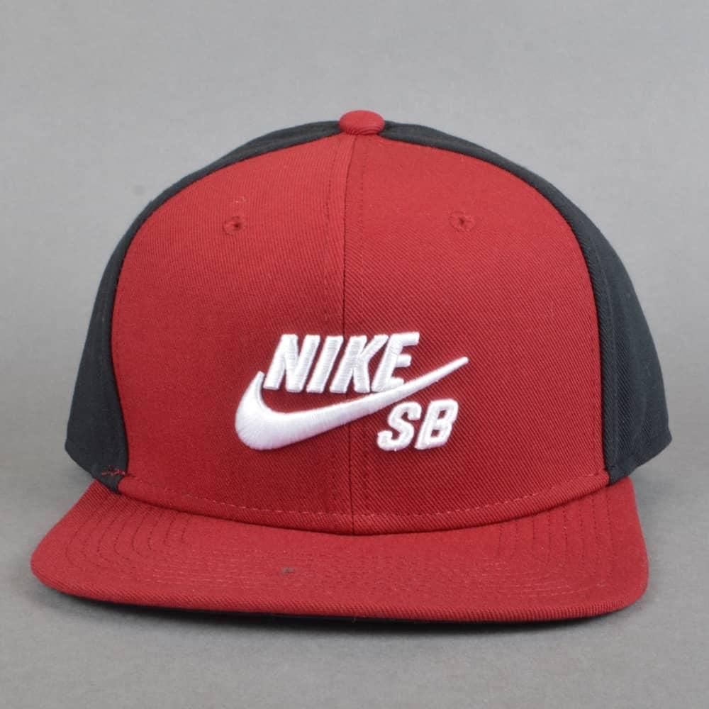 1c8ba9b65d99a Nike SB Pro Snapback Cap - Team Red Black Black White - SKATE ...