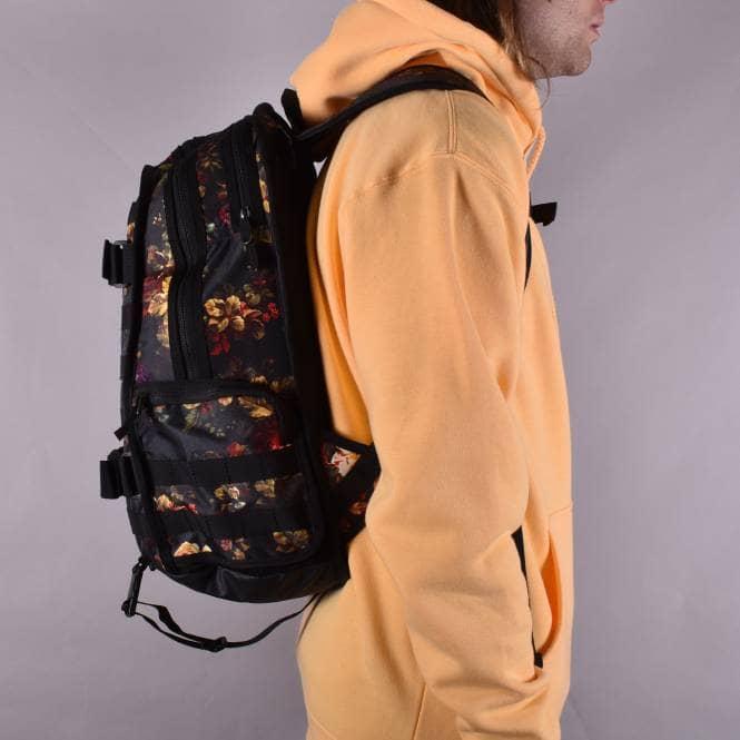 RPM Floral Graphic Backpack BlackBlackBlack