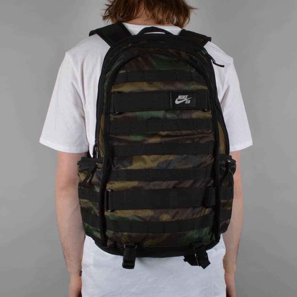 Nike SB RPM Graphic Skate Backpack - Iguana/Black/Black