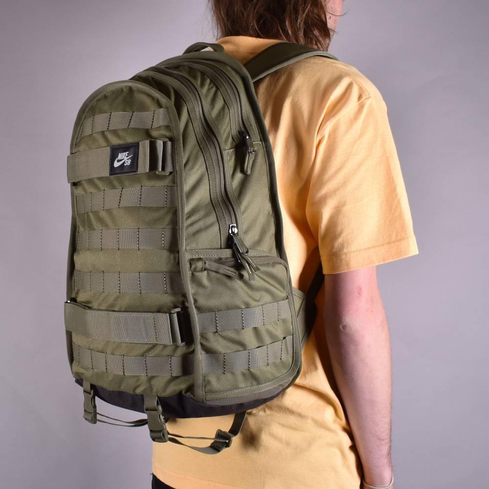 Nike SB RPM Skate Backpack - Medium Olive Medium Olive Black ... 42b6c80d2d2a6