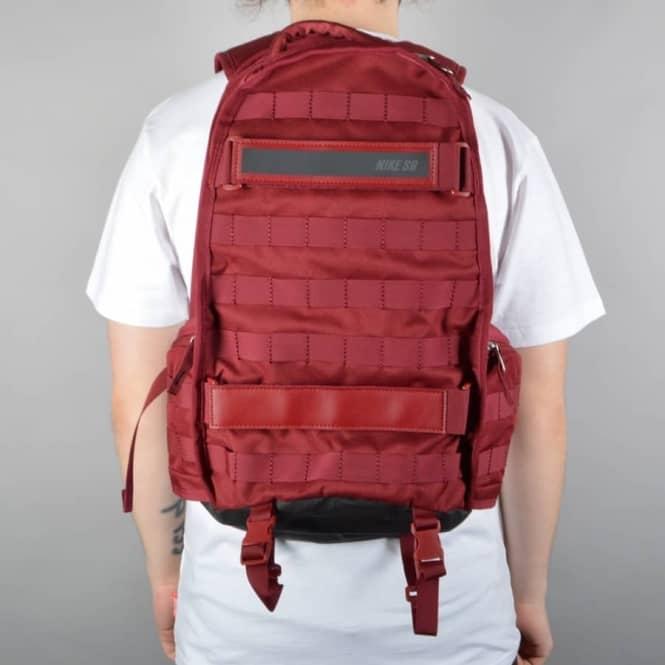 nike sb backpack red
