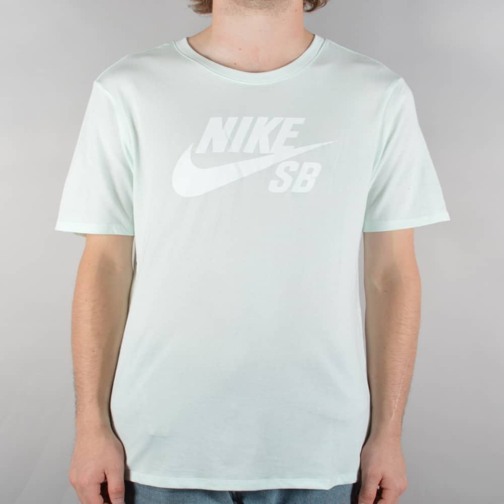 0847ce59b70f Nike SB SB Logo Skate T-Shirt - Barely Green White - SKATE CLOTHING ...