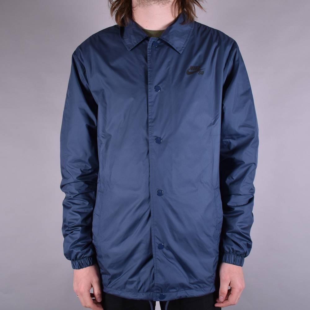 5b76665e Nike SB Shield Coach Jacket - Thunder Blue/Black - SKATE CLOTHING ...