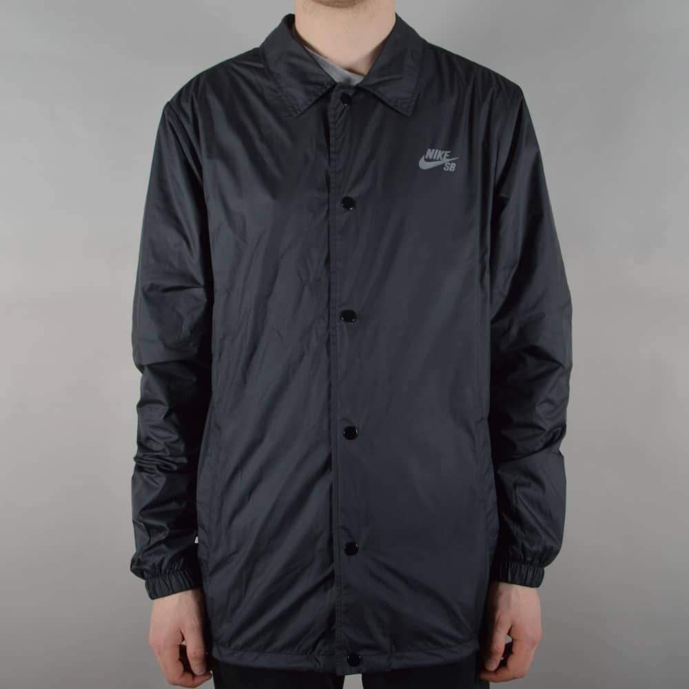 Nike SB Shield Coaches Jacket - Black - SKATE CLOTHING from Native ... f76e5a04f