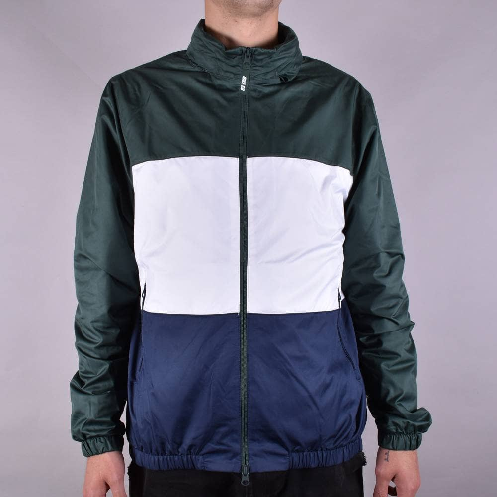 100% quality online for sale where can i buy Nike SB Shield Jacket - Midnight Green/White/Obsidian