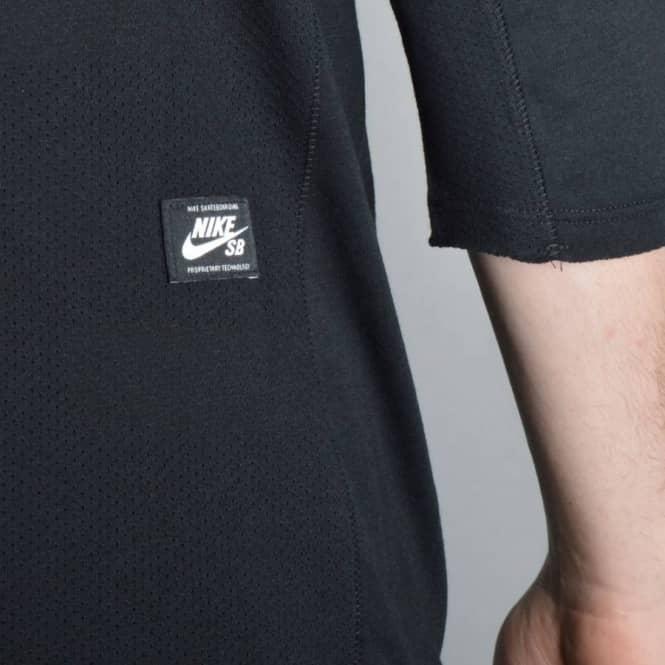 Nike SB Skyline Dri-Fit 3 4 Sleeve Crew T-Shirt - Black - SKATE ... 2aa89b5eb