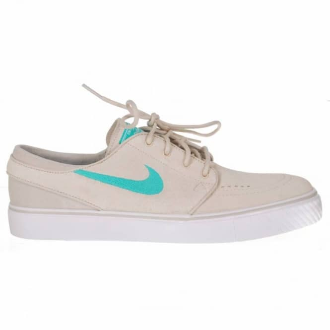 rompecabezas Barricada galón  Nike SB Stefan Janoski Birch/Clear Jade/Platinum Grey-Gum Light Brown Skate  Shoes - Mens Skate Shoes from Native Skate Store UK
