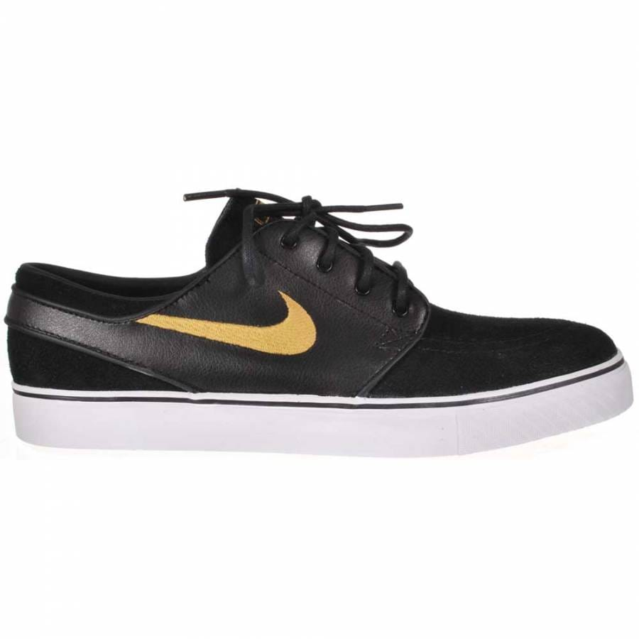 Nike Sb Shoes Black And Gold