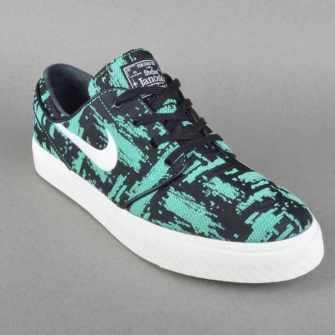 Nike SB Stefan Janoski EXP Premium Skate Shoes - Crystal Mint Ivory ... 0a2061f179
