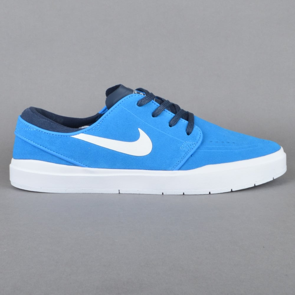 Stefan Janoski Hyperfeel Skate Shoes - Photo Blue/White-Obsidian