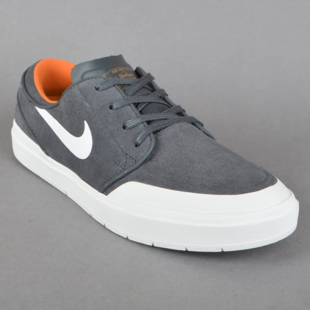 official photos 2f009 b9875 Stefan Janoski Hyperfeel XT Skate Shoes - Anthracite White-Summit  White-Clay Orange