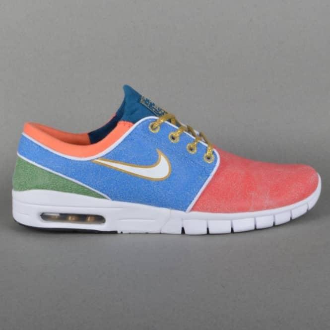 on sale 2ddcc a823a Stefan Janoski Max L QS Skate Shoes - Concepts Mosaic