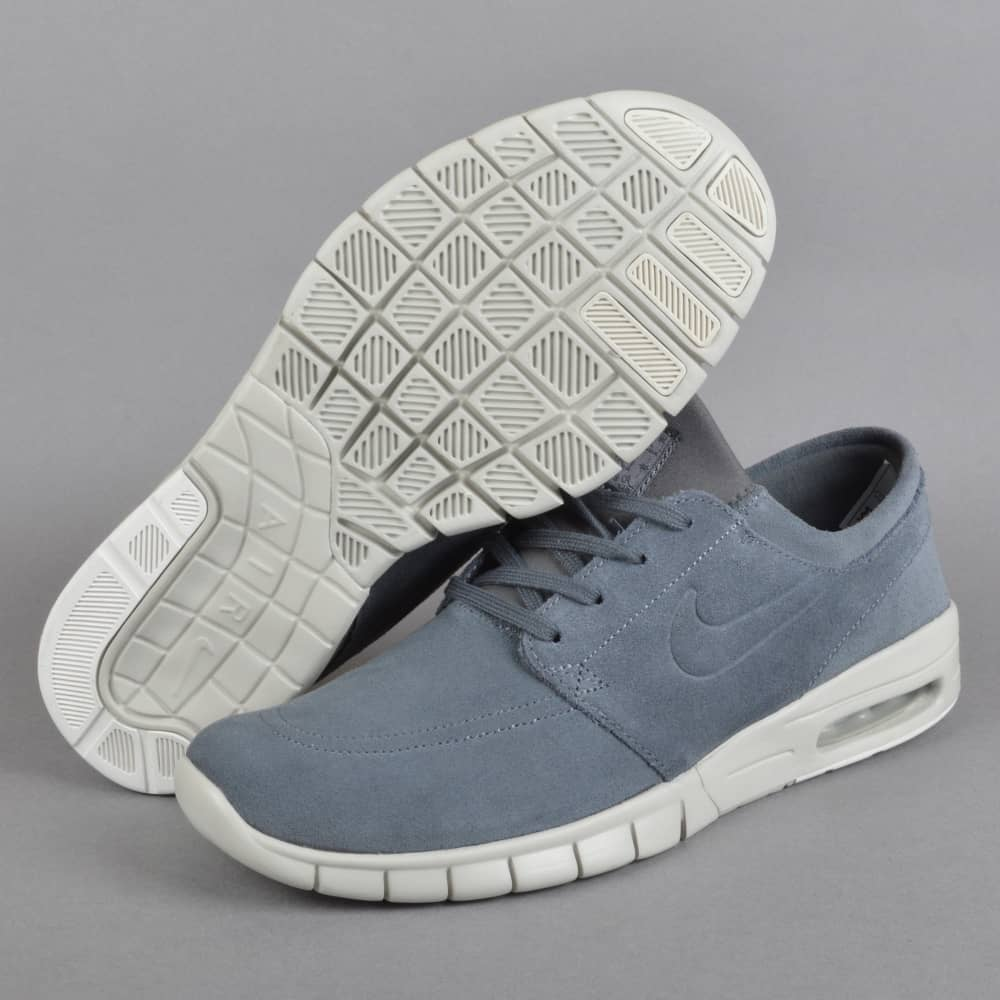 31b153ffa3 Nike SB Stefan Janoski Max L Skate Shoes - Dark Grey/Dark Grey-Light ...