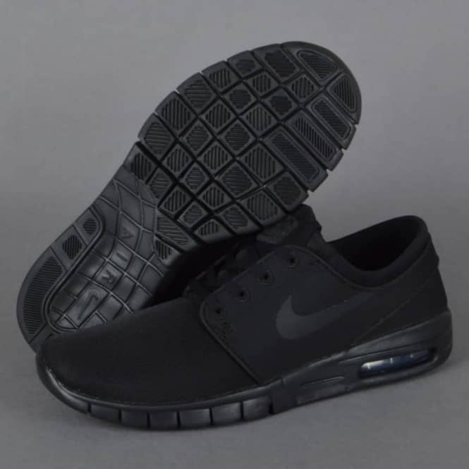 bce69636a37 Stefan Janoski Max Skate Shoes - Black/Black-Anthracite-Black