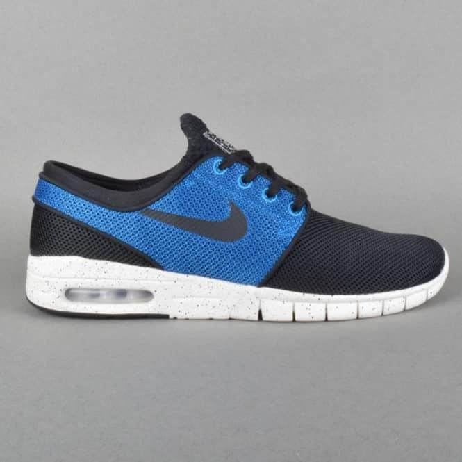 buy popular 5a650 44bc2 Stefan Janoski Max Skate Shoes - Black Black Photo Blue-Ivory
