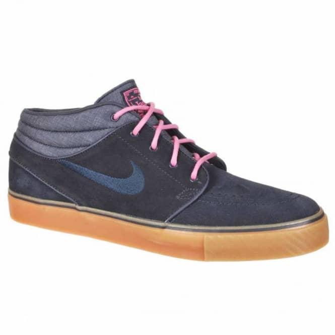 13c928880f6c Nike SB Stefan Janoski Mid Skate Shoe - Dark Obsidian Digital Pink ...