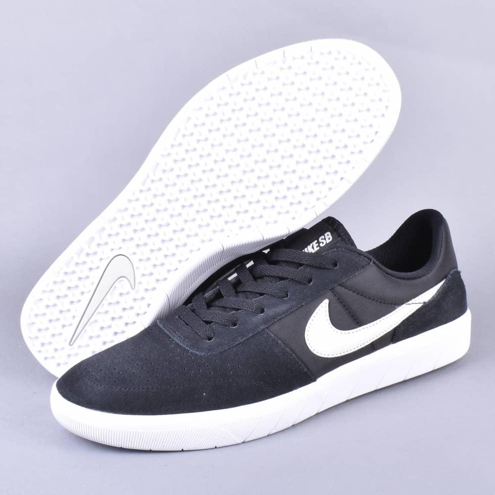 ac5174e70c708 Nike SB Team Classic Skate Shoes - Black/Light Bone-White - SKATE ...