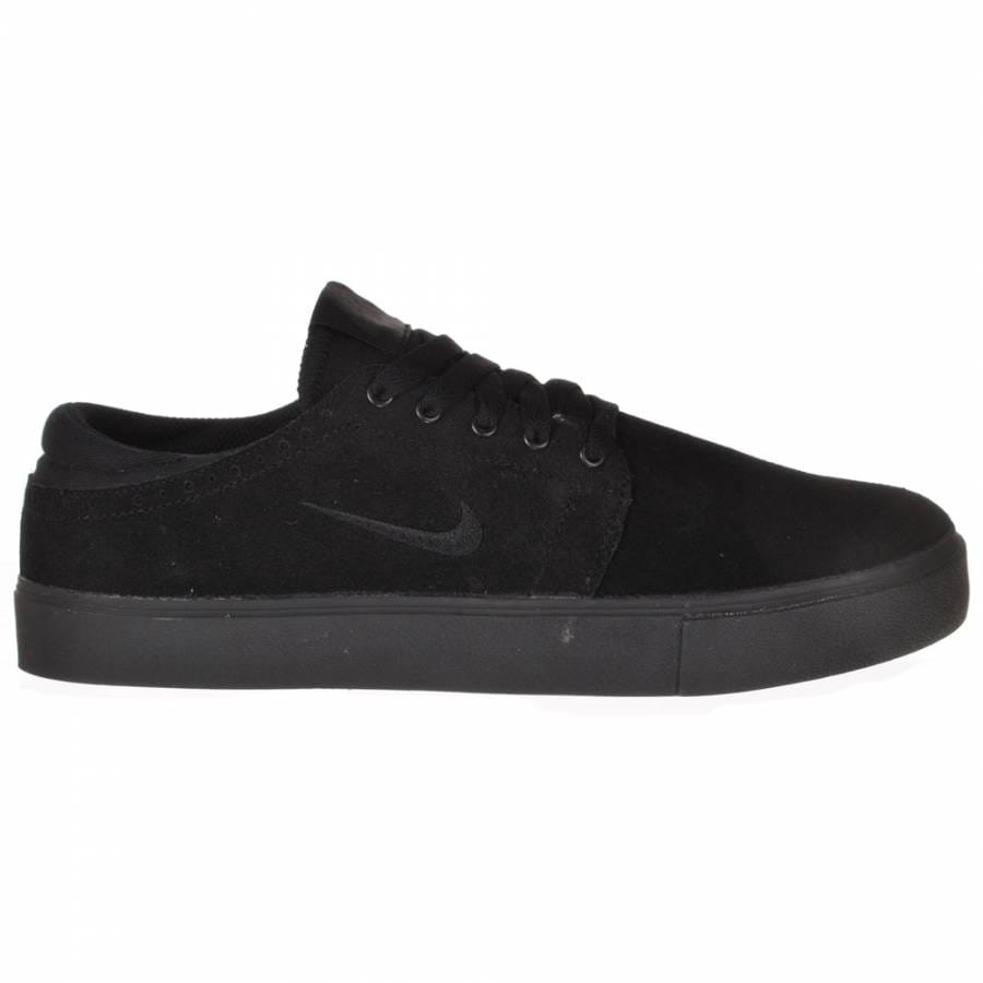 nike sb nike sb team edition black black black skate shoes